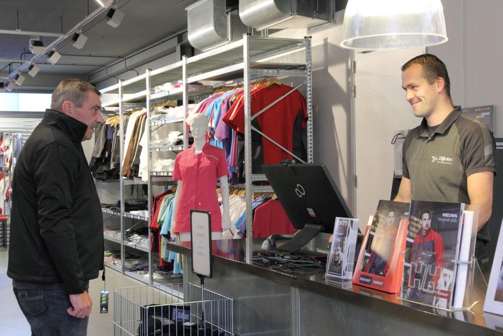 Diensten winkel en magazijn